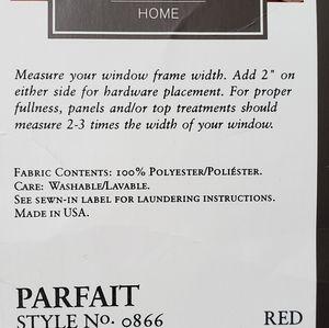 Croscill Home Accents - Croscill Home Fringed Crepe Scarf Wine Color